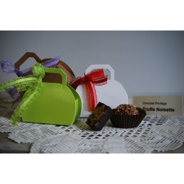 Chocolat fin 70% cacao boite de 2 morceaux
